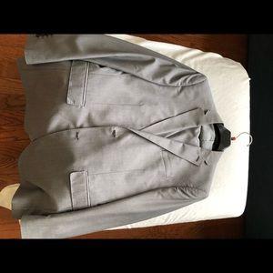 J Ferrar slim fit grey 3 piece suit with vest